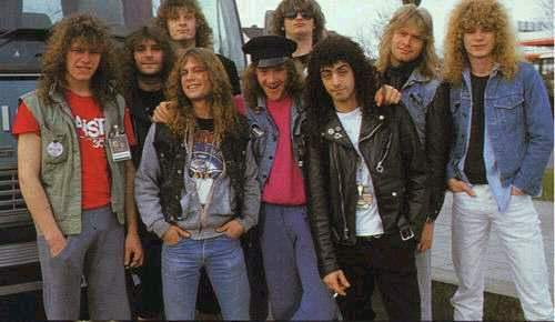 Helloween and OVERKILL