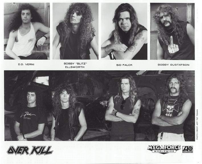 OVERKILL ВРЕМЕН The Years Of Decay' 1989
